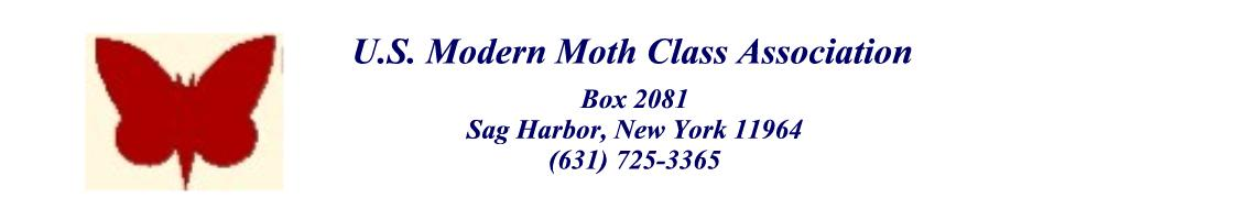 United States Modern Moth Class Association Letterhead